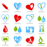 Medical icons7 Royalty Free Stock Photo