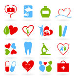 Medical icons9 Stock Images