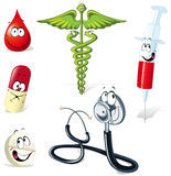 Medical illustrations Royalty Free Stock Image