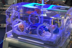 Medical incubator Royalty Free Stock Photography
