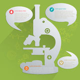 Medical info graphics Stock Photography