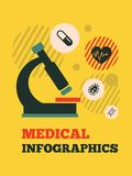 Medical Infographic Element Royalty Free Stock Images