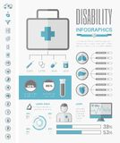 Medical Infographic Template. Royalty Free Stock Images
