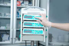 Medical Infusion Pump Stock Images