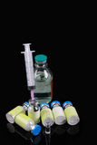 Medical injection products Stock Photos