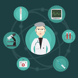 Medical innovation and doctors Royalty Free Stock Photography