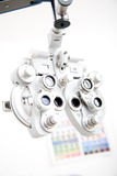 Medical instrument. Modern ophthalmology medical instrument in labor Stock Photos