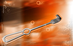 Medical Instrument Retractor Royalty Free Stock Image