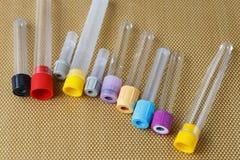 Medical instruments, medical blood tube, test tube Royalty Free Stock Images