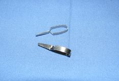Medical Instruments- Micro vascular clamps Stock Image