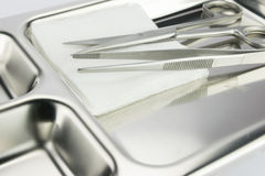Medical instruments Stock Image
