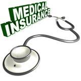 Medical insurance royalty free illustration
