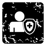 Medical insurance concept icon, simple style Stock Image