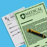 Medical insurance design. Stock Photography