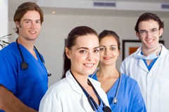 Medical interns Royalty Free Stock Photos