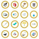 Medical isometric 3d icon circle. Cartoon isolated vector illustration Stock Photo