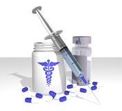 Medical Items Royalty Free Stock Photo