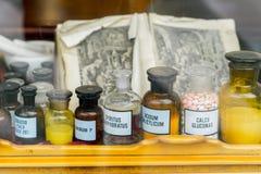 medical jars dekoratiye. Decorated Royalty Free Stock Images
