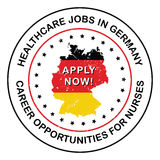 Medical Jobs / Healthcare Jobs in Germany. Royalty Free Stock Photos