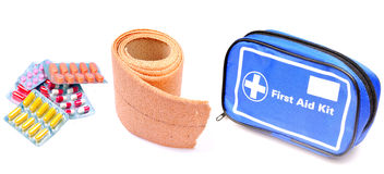 Medical kit Royalty Free Stock Photos