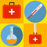 Medical kit Stock Photography