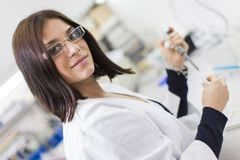 Medical laboratory Stock Images