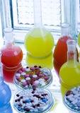 Medical laboratory royalty free stock photos