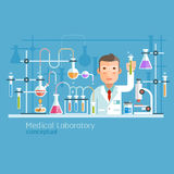 Medical Laboratory Conceptual. Stock Image