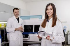 Medical laboratory Royalty Free Stock Image