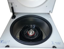 Medical labware. Laboratory centrifuge is ready to use Royalty Free Stock Photos