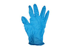Medical Latex Glove. Latex glove, concept health care and hygiene Royalty Free Stock Image