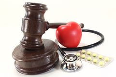 Medical law Royalty Free Stock Photography