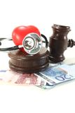 Medical law Royalty Free Stock Images
