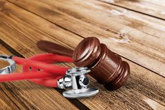Medical law Royalty Free Stock Photo