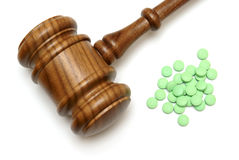 Medical Laws. A concept on the medical laws of prescription drugs Stock Images