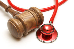 Medical Lawsuit. A concept related to a medical lawsuit in the legal system Royalty Free Stock Images