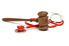 Medical Lawsuit. A concept related to a medical lawsuit in the legal system Stock Photography