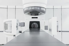 Medical linear accelerator. In the therapeutic oncology Royalty Free Stock Images