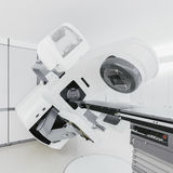 Medical linear accelerator. In the therapeutic oncology Royalty Free Stock Photo