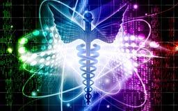 Medical logo Royalty Free Stock Image