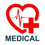 Medical logo - vector. Medical logo sign - stock vector royalty free illustration