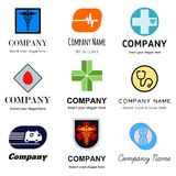 Medical logos Royalty Free Stock Images
