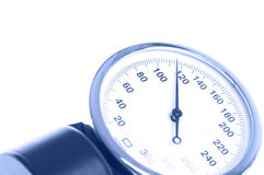 Medical manometer closeup Stock Image