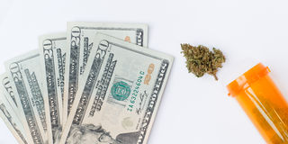 Medical Marijuana Royalty Free Stock Photo