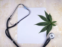Medical marijuana background royalty free stock photo