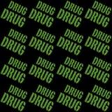 Medical Marijuana Background Stock Photography