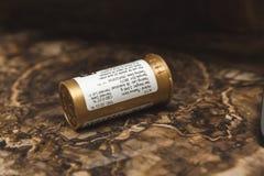 Medical Marijuana Container royalty free stock image