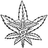 Medical Marijuana Icon Illustration Stock Photography