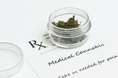 Medical Marijuana Stock Image