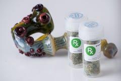 Medical marijuana prescription Royalty Free Stock Photography